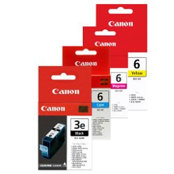 Canon BCI-3e/BCI-6 8 Pack Bundle (Genuine)