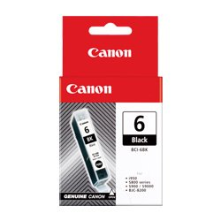 Canon BCI-6BK Black (Genuine)