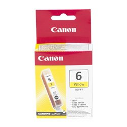 Canon BCI-6Y Yellow (Genuine)