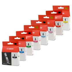 Canon BCI-6 8 Pack Bundle (Genuine)