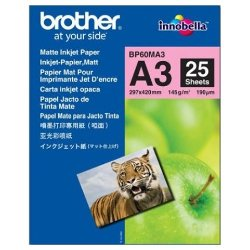 Brother BP60MA3 A3 Matte Inkjet Paper