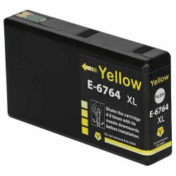 Compatible 676XL Yellow High Yield (C13T676492)