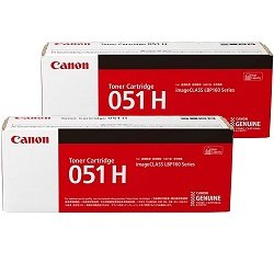 Canon CART051H 2 Pack Bundle (Genuine)