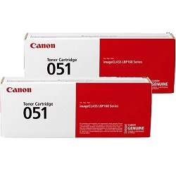Canon CART051 2 Pack Bundle (Genuine)