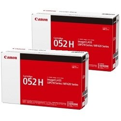 Canon CART052H 2 Pack Bundle (Genuine)