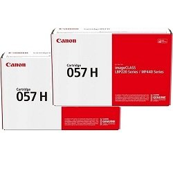 Canon CART057H 2 Pack Bundle (Genuine)