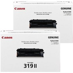 Canon CART319II 2 Pack Bundle (Genuine)