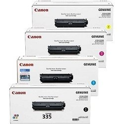Canon CART335 4 Pack Bundle (Genuine)