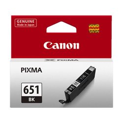 Canon CLI-651BK Photo Black (Genuine)