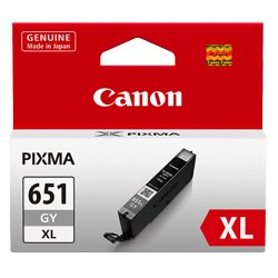 Canon CLI-651XLGY Grey High Yield (Genuine)