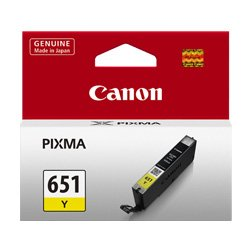 Canon CLI-651Y Yellow (Genuine)