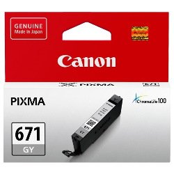 Canon CLI-671GY Grey (Genuine)