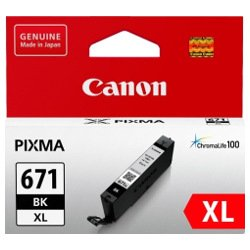 Canon CLI-671XLBK Black High Yield (Genuine)