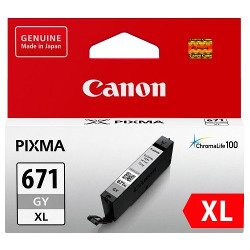 Canon CLI-671XLGY Grey High Yield (Genuine)