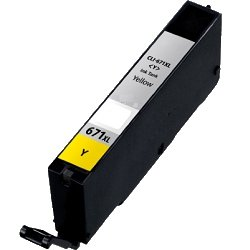 Compatible CLI-671XLY Yellow High Yield