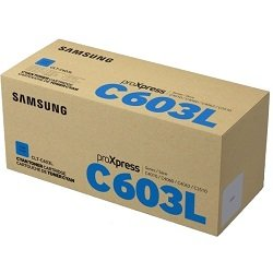 Samsung CLT-C603L Cyan Toner Cartridge (Genuine)