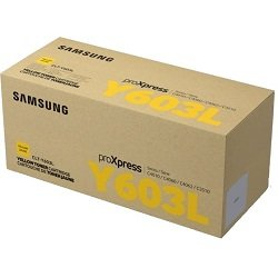 Samsung CLT-Y603L Yellow Toner Cartridge (Genuine)