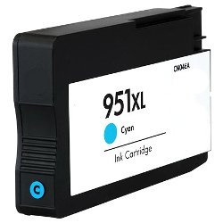 Remanufactured 951XL Cyan High Yield (CN046AA)