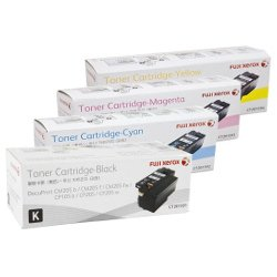 Fuji Xerox CT201591-4 4 Pack Bundle (Genuine)