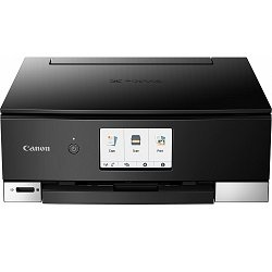 Canon PIXMA Home TS8260 Black Multifunction Colour InkJet Wireless Printer + Duplex