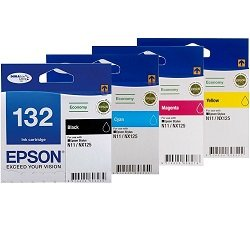 Epson 132 4 Pack Bundle (Genuine)