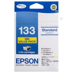 Epson 133 4 Pack Bundle (Genuine)