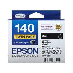 Epson 140 2 Pack Bundle (Genuine)