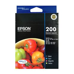 Epson 200 4 Pack Bundle (Genuine)