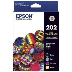 Epson 202 4 Pack Value Pack (C13T02N692) (Genuine)