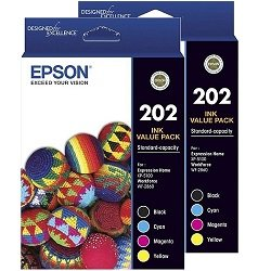 Epson 202 8 Pack Bundle (C13T02N192-492) (Genuine)