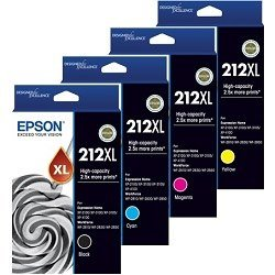 Epson 212XL 4 Pack Bundle (C13T02X192-492) (Genuine)