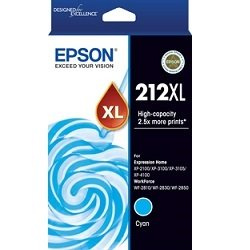 Epson 212XL Cyan High Yield (C13T02X292) (Genuine)