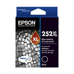 Epson 252XL Black High Yield(Genuine)