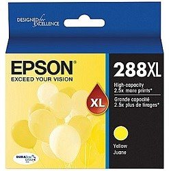 Epson 288XL Yellow High Yield Ink Cartridge (Genuine)