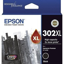 Epson 302XL Black High Yield (Genuine)