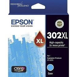 Epson 302XL Cyan High Yield (Genuine)
