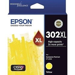 Epson 302XL Yellow High Yield (Genuine)