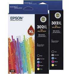Epson 302XL 10 Pack Bundle (Genuine)