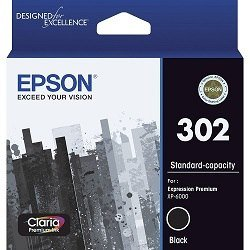 Epson 302 Black (Genuine)