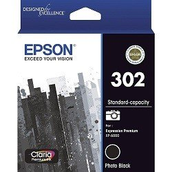 Epson 302 Photo Black (Genuine)
