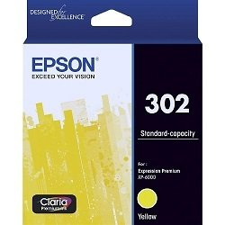Epson 302 Yellow (Genuine)