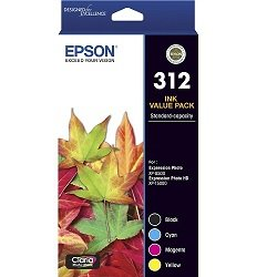 Epson 312 4 Pack Value Pack (Genuine)