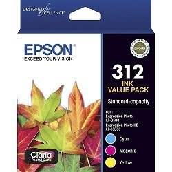 Epson 312 3 Pack Value Pack (Genuine)