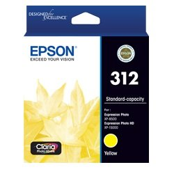 Epson 312 Yellow Ink Cartridge (Genuine)