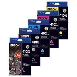 Epson 410XL 5 Pack Bundle (Genuine)