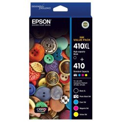 Epson 410 5 Pack Value Pack (Genuine)