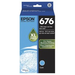 Epson 676XL Cyan High Yield (C13T676292) (Genuine)