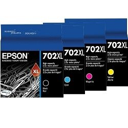 Epson 702XL 8 Pack Bundle (Genuine)