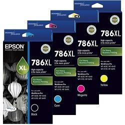 Epson 786XL 4 Pack Bundle (C13T787192-C13T787492) (Genuine)