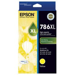 Epson 786XL Yellow High Yield (C13T787492) (Genuine)